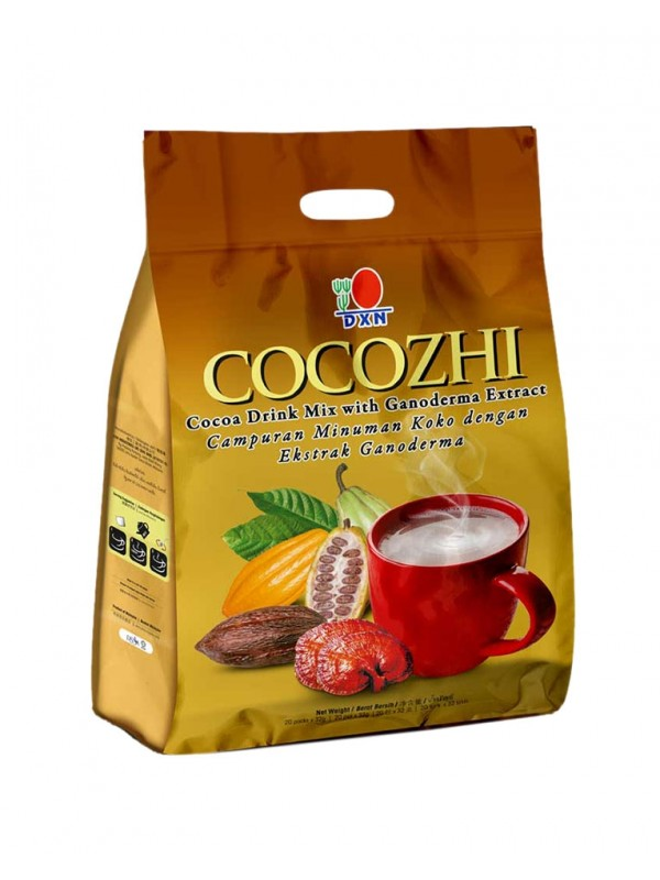 Cocozhi DXN, chocolate con Ganoderma