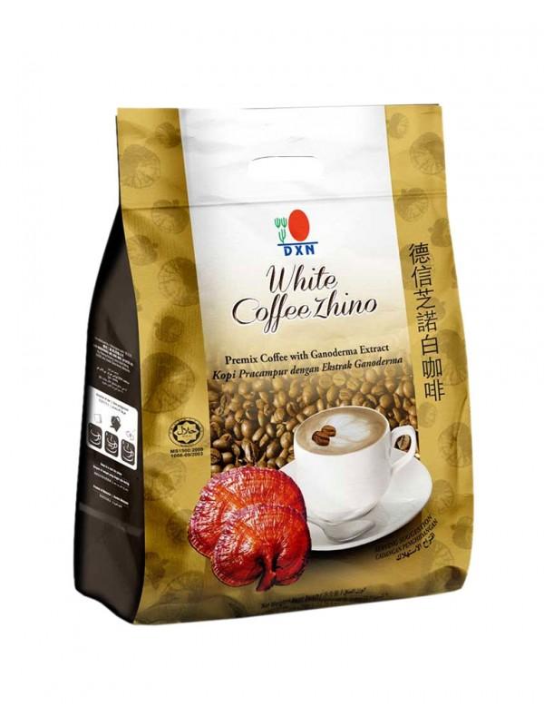Café capuchino con Ganoderma, White Coffe Zhino DXN