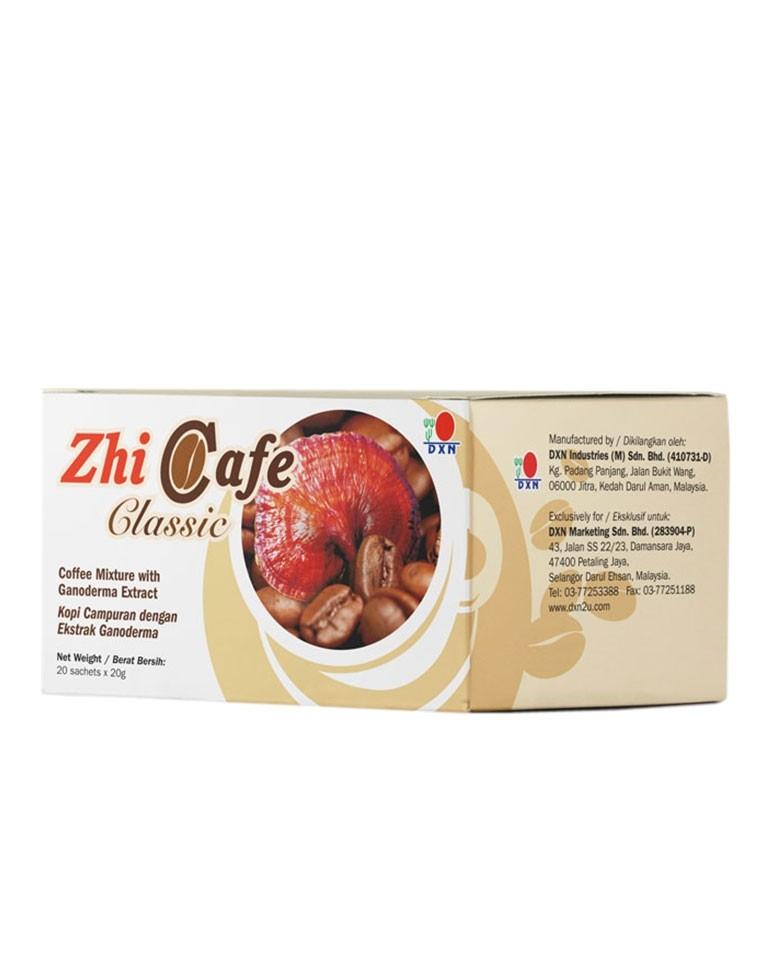 Café tostado con Ganoderma, Zhi Café Clasic DXN