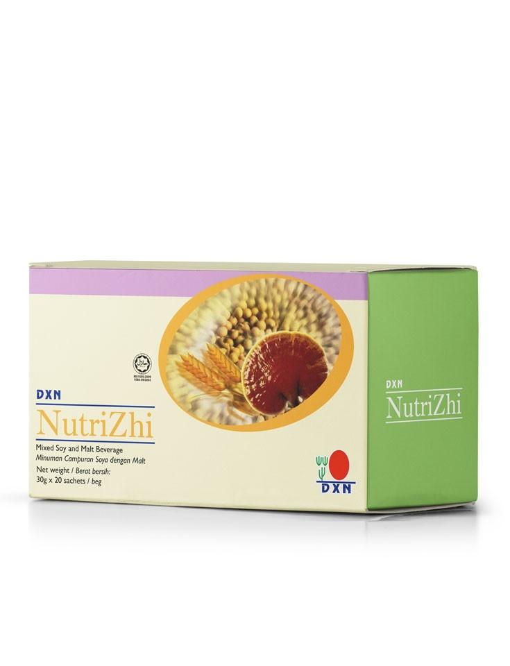 Nutrizhi, Bebida de Soja, Malta y Ganoderma