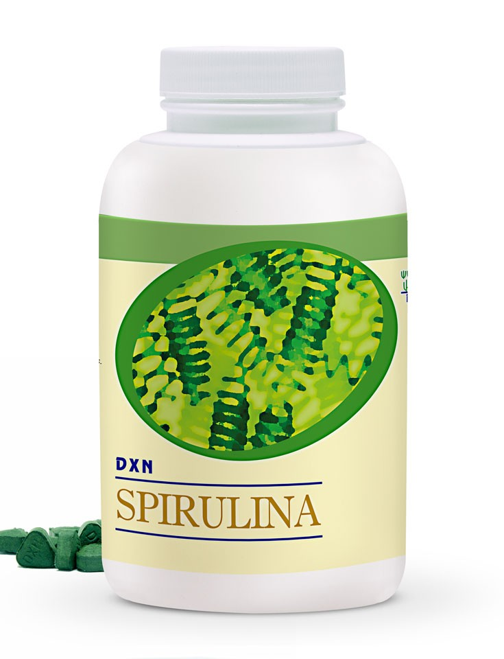 Espirulina en Tabletas 500 DXN